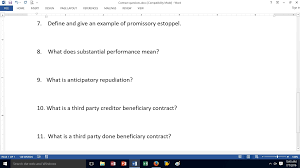 define and give an example of promissory estoppel com question define and give an example of promissory estoppel