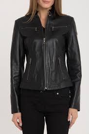 <b>Кожаная куртка IPARELDE</b> арт B2327_BLACK BLACK ...