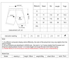 INFLATION Elastic Drawstring Shorts <b>Men Summer Loose</b> Style ...