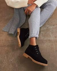 Ботинки на контрастной подошве в интернет-магазине ...