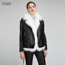 <b>Leather Women'S</b> Lambskin <b>Leather</b> Bomber Biker Jacket <b>Long</b> ...