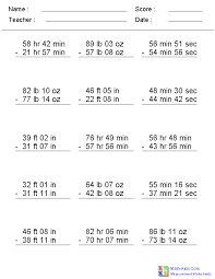 Measurement Worksheets | Dynamically Created Measurement WorksheetsMeasurement Worksheets