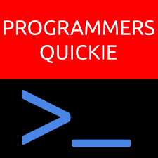 Programmers Quickie