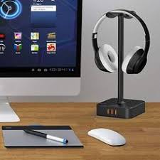 Headphone <b>Stand Headset Holder</b> New Bee Earphone <b>Stand</b> with ...
