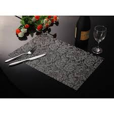 household dining table set christmas snowman knife: creative piece pvc square dining table placemats insulation table mat bowl pad table cloth pad