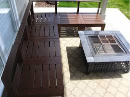 patio furniture sectional orange