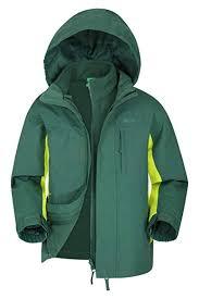 Mountain <b>Warehouse</b> Cannonball <b>3 in 1</b> Kids Waterproof Jacket Coat