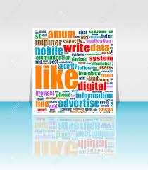 social media marketing word cloud flyer or cover design social media marketing word cloud flyer or cover design stock vector 14211467