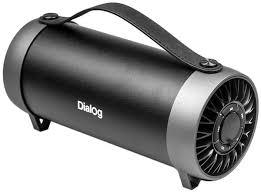 bluetooth <b>колонка Dialog Progressive AP-930</b> black по самой ...