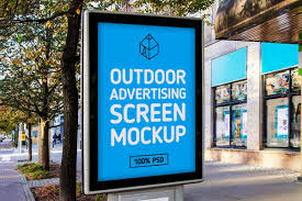 very creative and professional psd poster mockups to show outdoor advertising screen mockup psd 7084e9d33df5b1c85fe776d80a216d89
