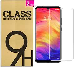 [2 Pack] <b>Tempered Glass for Xiaomi</b> Redmi Note 7 / Redmi Note 7 ...