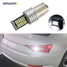 <b>1x</b> New White 1156 <b>BA15S</b> P21W LED Car 4014 SMD Bulb Reverse ...