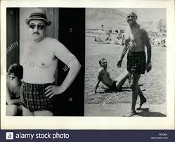 acireale sicily two best famous writers 1968 acireale sicily 1962 two best famous writers alberto moravia and salvators quasimodo nobel prize passing the vacations in sicily