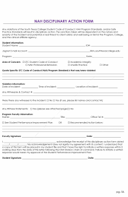 effective employee write up forms disciplinary action forms employee write up form 27