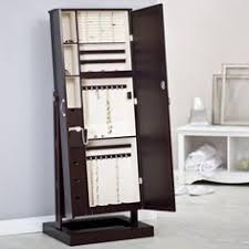 full length mirror with jewelry armoire amazoncom antique jewelry armoire