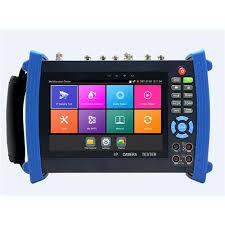 <b>7 inch</b> IPS touch screen IP <b>Analog</b> 4MP CVI /4MPAHD/8 TVI tester ...