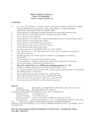 Experience Thesaurus Resume Resume For Your Job Application