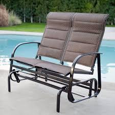 restored metal vintage patio porch glider