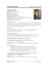sample cv of civil engineer sample resume for civil engineer