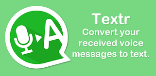 Textr - Voice Message to Text - Apps en Google Play