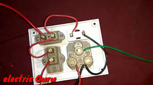 How to <b>connect Power Plug Connection</b> in Hindi | <b>Electric</b> Guru ...