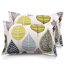 Buy Ahmedabad Cotton <b>Pillow</b> Cover/Case Set (<b>2 Pcs</b>) - 18 x 27 ...