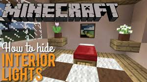 how to hide interior lights in minecraft aesthetic lighting minecraft indoors torches