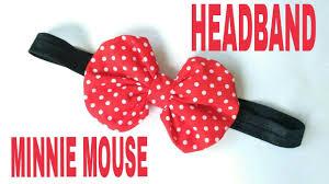 DIY Minnie Mouse <b>Headband For Baby</b> DIY by Elysia Handmade ...