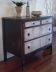 diy furniture restoration ideas. Sheet Music Painted On Dresser Drawers Diy Furniture Restoration Ideas