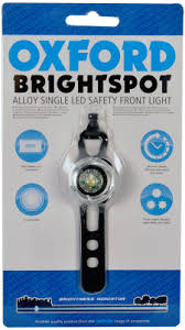 <b>Oxford BrightSpot</b> LED Light Silver <b>Front</b> LD712S <b>Фонарь</b> для ...