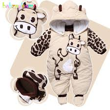 0 9Months/<b>Autumn Winter Baby</b> Girls Boys <b>Rompers</b> Cartoon Cute ...