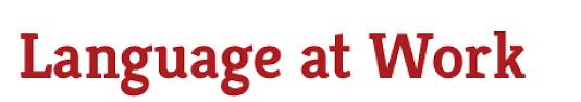 language at work professional development training washington logo