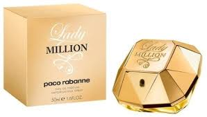 <b>Paco Rabanne Lady</b> Million EdP 50ml in duty-free at airport Koltsovo