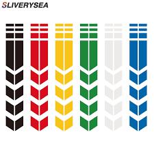 <b>SLIVERYSEA</b> 34x5.5cm Car Motorcycle Fender JDM Reflective ...