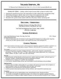 experienced nursing resume  nerdy nurse stuff   graduate nurse resume example