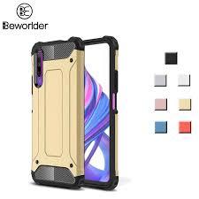 For <b>Huawei Honor</b> 9X Pro Case Dual Protect Hybrid <b>TPU PC</b> ...
