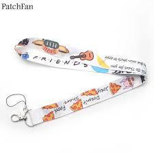 Patchfan Friends tv show keyring keychain lanyard webbing ribbon ...