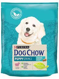 <b>Корм сухой</b> для щенков до года ягнёнок 800г <b>DOG</b> CHOW ...
