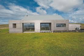 Scandinavian inspired self build house plans   Self build co ukScandinavian inspired modern longhouse in Scotland