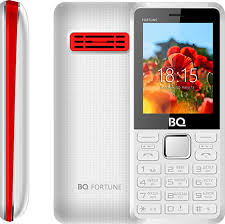 Мобильный <b>телефон BQ 2436</b> Fortune P, белый, красный
