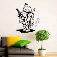 wall decal family art bedroom decor storm trooper wall decal star wars cartoon vinyl sticker home interior nursery art design children room mural bedroom wall decor
