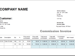amatospizzaus remarkable small business invoices and invoice logos amatospizzaus great ms excel commission invoice template excel invoice templates nice commission invoice and unique