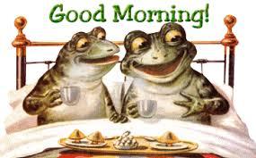 Καλημέρα από τα βατραχάκια...