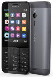 <b>Мобильный телефон Nokia 230</b> Dual Sim, черный, серебристый ...