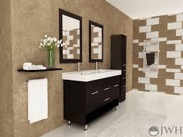 bathroom place vanity contemporary: rigel double sink vanity jwh   rigel double sink vanity