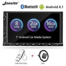 "<b>Jansite 7</b>"" 2 din <b>Car</b> Radio MP5 Android 8.1 player <b>HD 1080P</b> Digital ..."