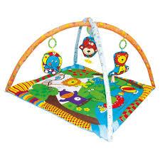 <b>Biba Toys Развивающий</b> коврик Мои Друзья из джунглей купить в ...