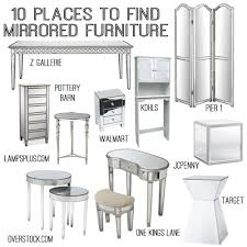today im crushing on mirrored furniture seriously how classy not everyones decor works with this style but i still think everyone brilliant decorating mirrored furniture target
