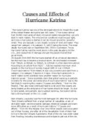 hurricane katrina essay nowservingco causes and effects of hurricane katrina gcse geography marked causes and effects of hurricane katrina