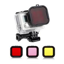 3pcs/set 3 in 1 Yellow/Red/Magenta <b>Underwater</b> Colors Cube <b>Dive</b> ...
